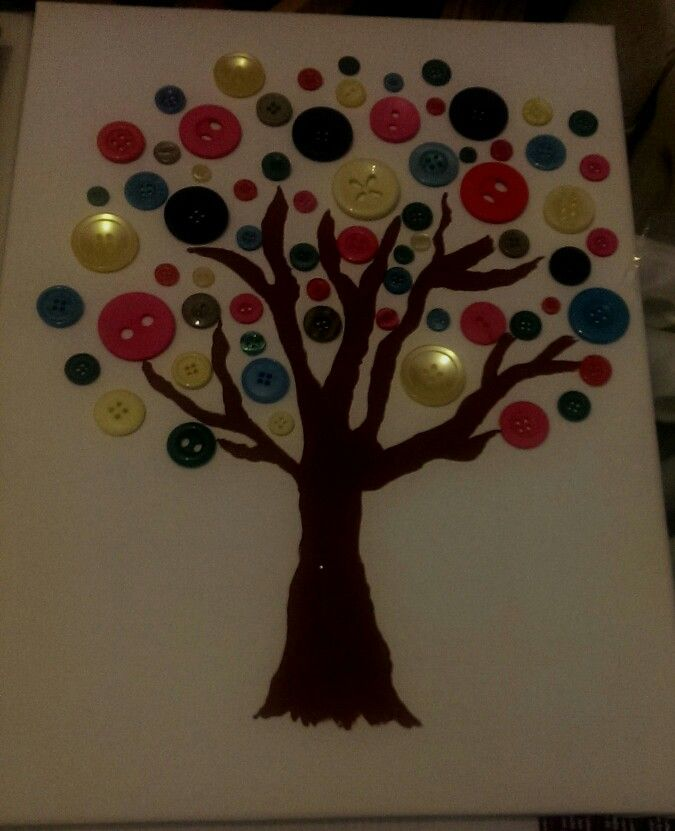 Another of my button trees