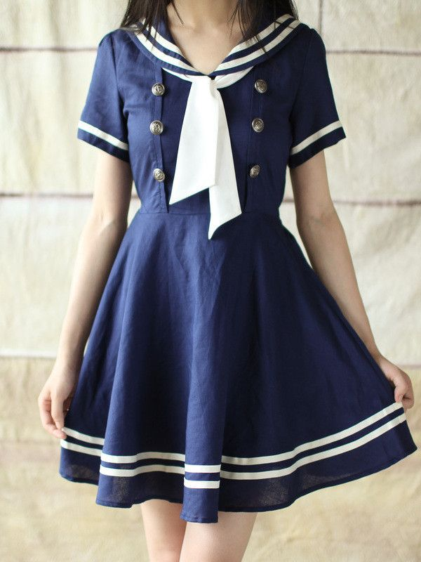 nautical beauty sailor dress