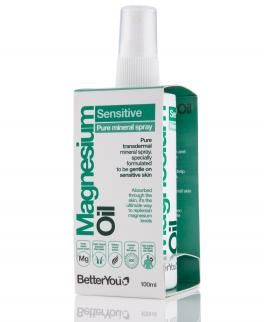 Olejek magnezowy Sensitive Spray BetterYou 100 ml