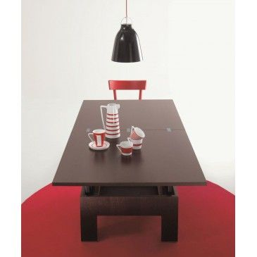 The convertible small table #Basic turns into table in a few and easy steps