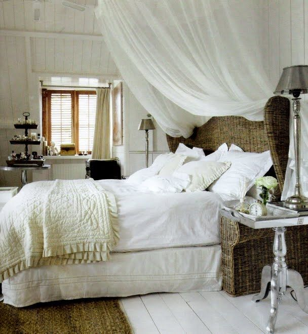 What IF @Lauren Hare... I do a gray headboard with gray walls BUT but a canopy or something in between the two?  Too much? Why not, though...?  I mean, might as well go over the top!