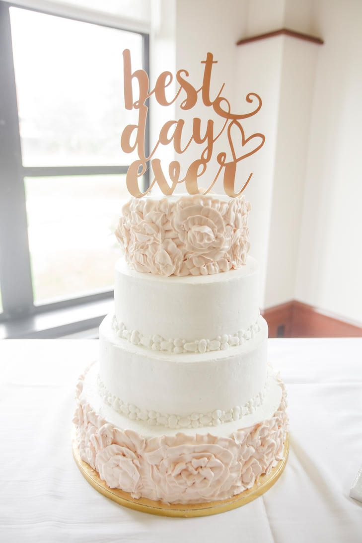Best Day Ever Wedding Cake Topper Love Tree Studios Http
