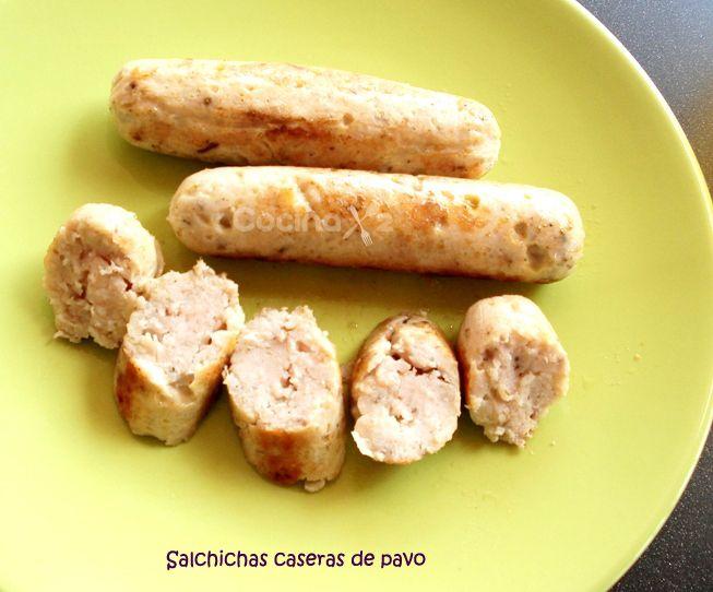 Cocinax2. Las recetas de Laurita.: Salchichas caseras de pavo