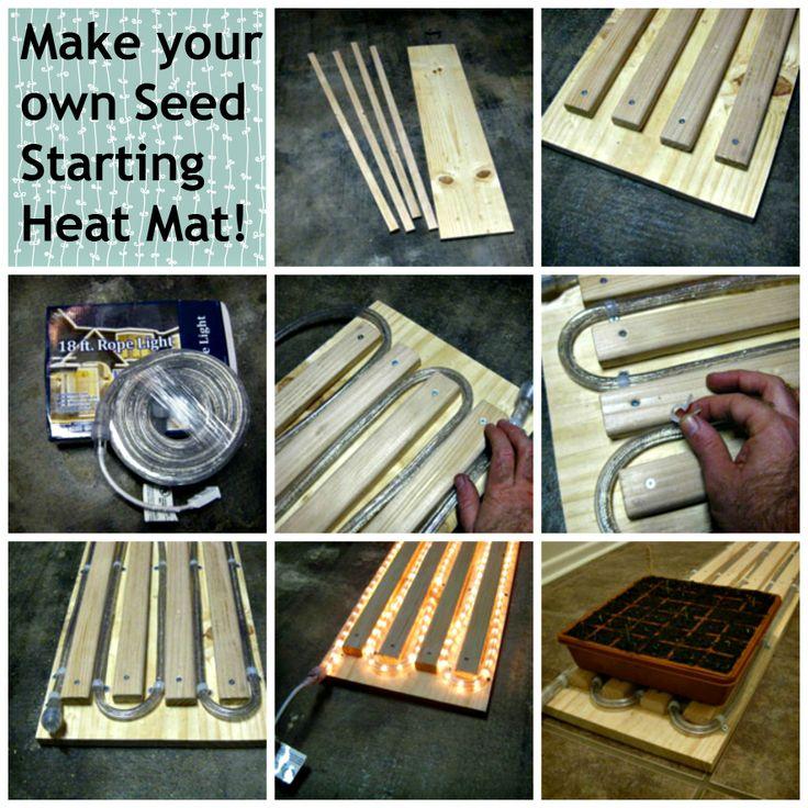Make your own Seed Starting Heat Mat!   DIY Gardening ...