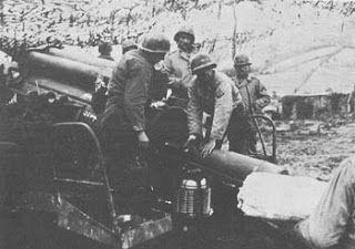 FEB Artillery in Monte Castello