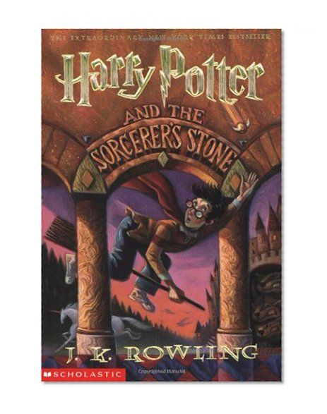 Harry Potter and the Sorcerer's Stone (Book 1) a lot of people make fun of harry potter books, i used to too, but then i read them. i had never been more enchanted by a book, i stayed up till midnight to finish it, then stayed up even longer marveling over how much i loved it and couldn't wait to read the next book!