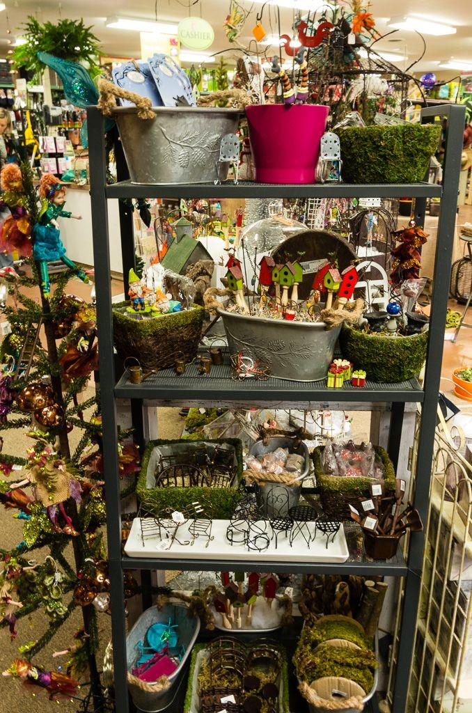 Fairy Garden Display At Farwest Landscape & Garden Center