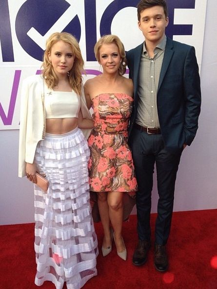 Melissa Joan Hart, Taylor Spreitler & Nick Robinson: People's Choice Awards 2014