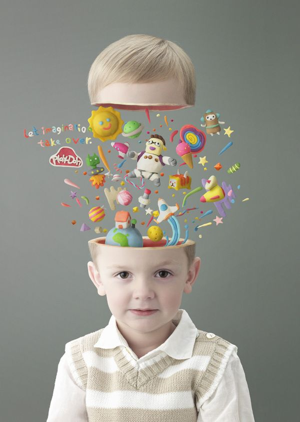 Inside a child's mind on #Behance >>  Play-Doh by Jeremy Wong of Nemesis Pictures, Singapore