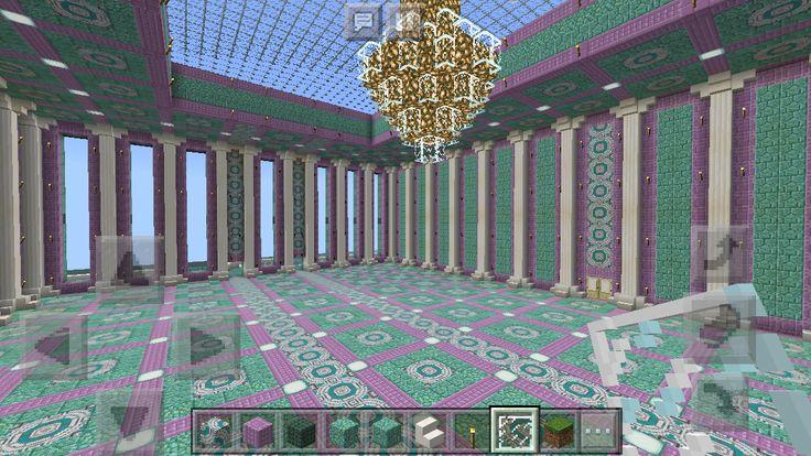Mermaid Mansion- Minecraft  Mermaid's Ballroom