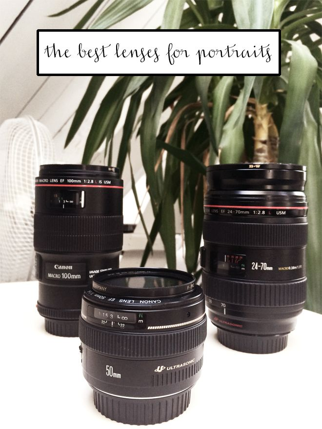 Photography Tips: The best lenses for portrait photography!