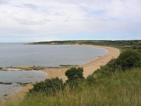 If the sun is shining, why not heard up the family and head to Gullane Beach this Easter week-end?