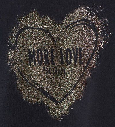 Imagem 5 de Sweatshirt aplicações e brilho da Zara