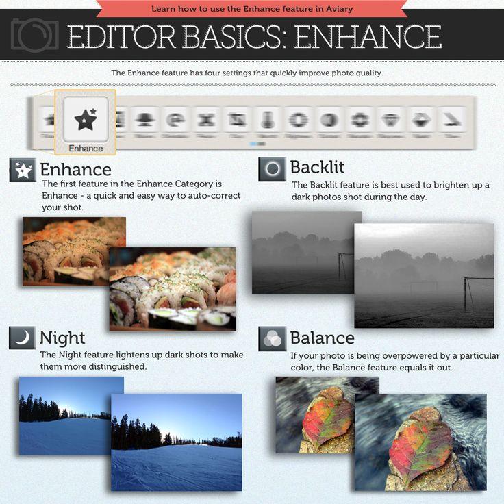 How To Use The Enhance Tool by Photobucket_Tutorials | Photobucket