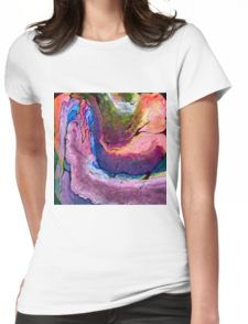 Beautiful Duress Womens Fitted T-Shirt
