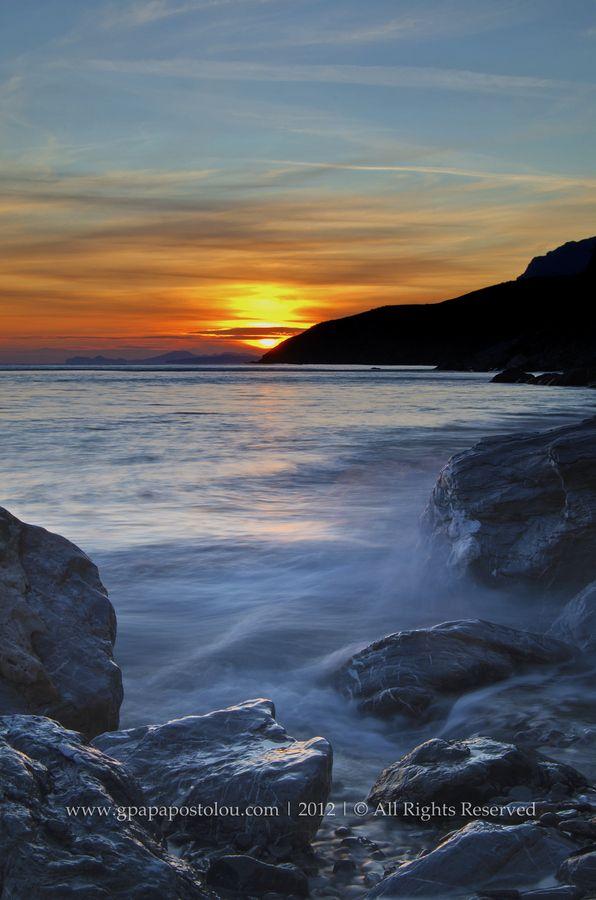 Sunset in Kos, Greece