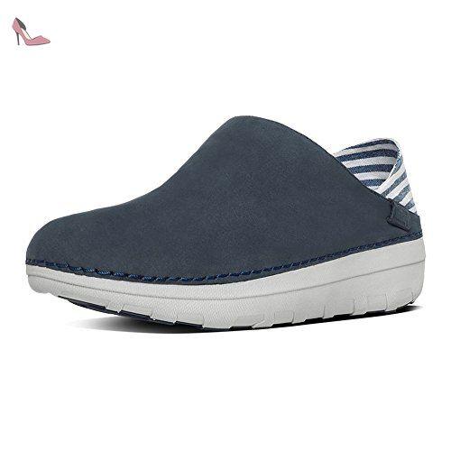 Chaussures De Sport Sportif-pop Noirs FitFlop UK7 Noir xwl6m1