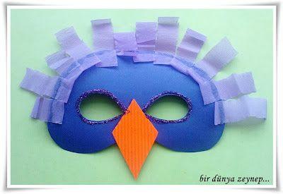 #preschool #okulöncesi #kindergarten #sanatetkinliği #kidscraft #maske #mask