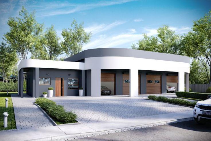 K-73 to nowy projekt myjni samochodowej o bardzo nowoczesnej architekturze.