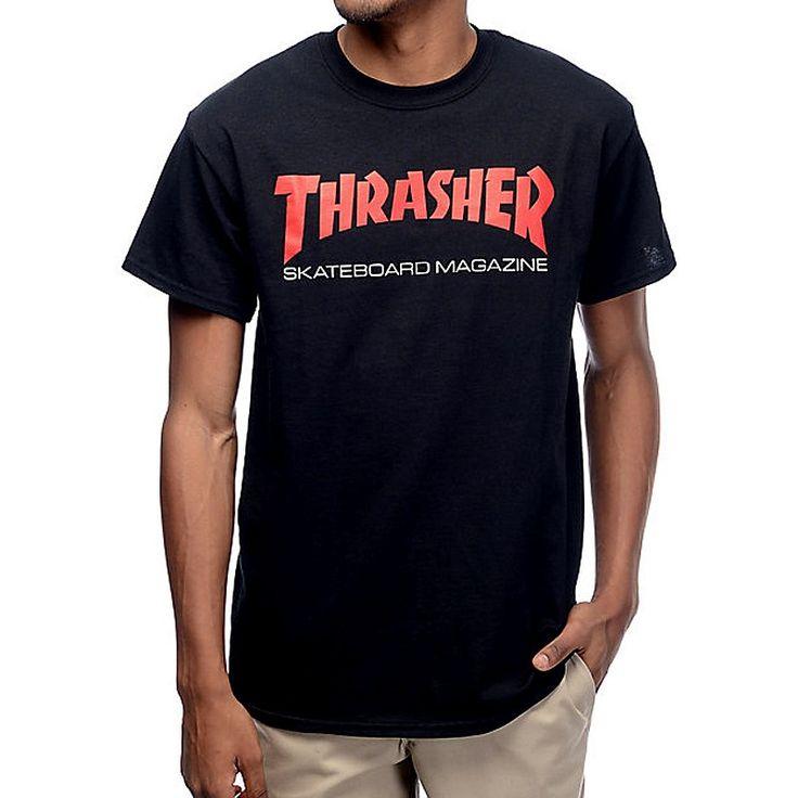 Camiseta Thrasher Skateboard magazine disponible en nuestra tienda online de skate surf. #skater #surf #skate #skatespain #thrasher #flame #moda #trendy #chic #rebajas #ofertas