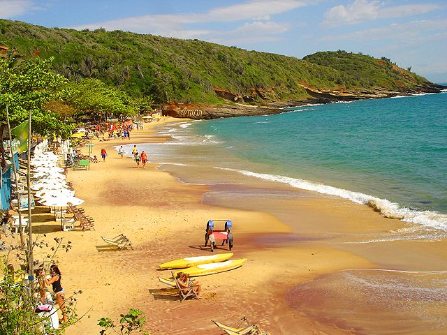 Lying 100 miles east of the city of Rio de Janeiro, the resort town of Búzios is a hangout for the rich and famous – and has been called the St. Tropez of Brazil. It also masquerades as the Ibiza of #Brazil.