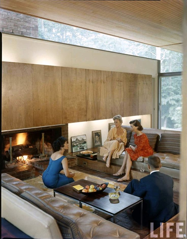 mid century modern interior decor   LIFE MAGAZINE. 332 best images about 60 s mid century living rooms on Pinterest