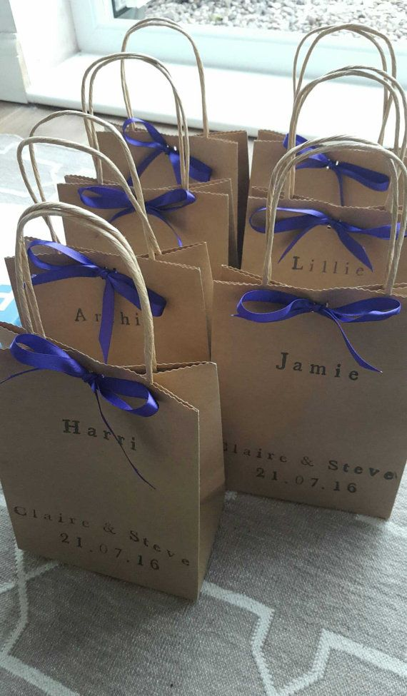 Personalised activity bags to keep the little ones entertained during the meal and speeches. Books for alexandra