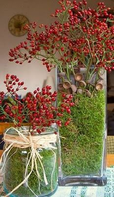 Autumn Centerpiece Ideas - Celebrations at Home