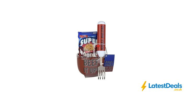 Batchelors Beef It up Super Noodles with Spinning Fork *HALF PRICE* Free C&C, £7.49 at Argos