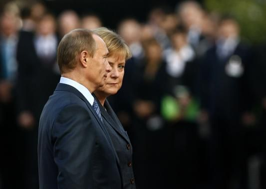 """Germany has taken the lead in trying to convince Putin to engage with the West. Merkel has spoken to him by phone three dozen times.  Now, German officials say, they have run out of ideas about how they might sway the Russian leader. Berlin is girding for a long standoff, akin to a second Cold War. """"We need to prepare ourselves for a prolonged conflict in which Russia will use all the means at its disposal,"""" Norbert Roettgen, chairman of the Bundestag foreign affairs committee told Reuters."""