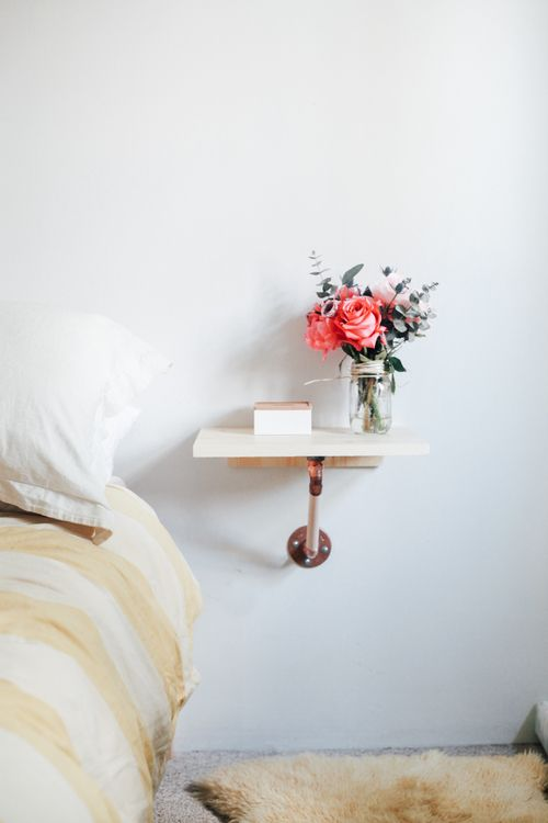 DIY // Copper & Wood Side Tables — Treasures & Travels