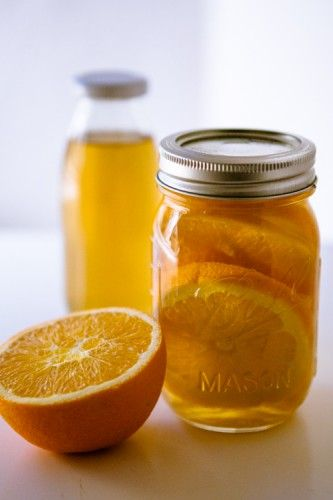 If mimosa's are a breakfast thing, why not oranges infused rum?? Orangenlikör Rezept für 300ml