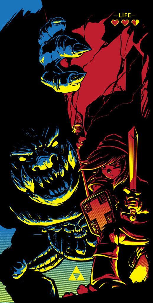 """""""Zelda"""" by Joshua Budich #zelda"""