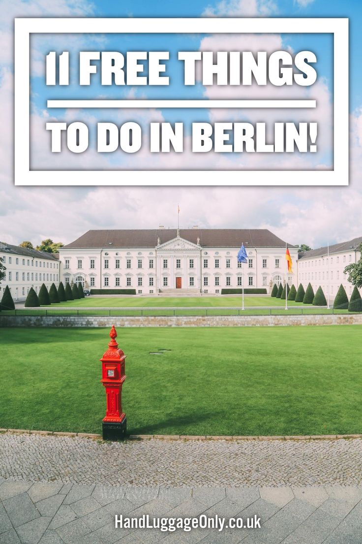 11 Of The Best Free Things To Do In Berlin! - Hand Luggage Only - Travel, Food & Photography Blog