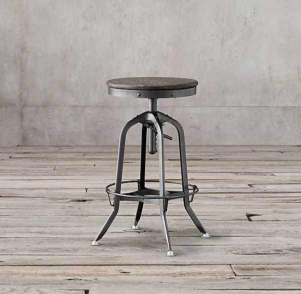 1940s Vintage Toledo Barstool Bar Stools Counter Stools Stools With Backs