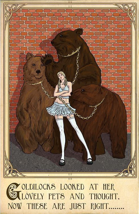 Goldilocks and the Three Bears | 9 Ways Your Fave Fairy Tales Would Have Ended In Real Life