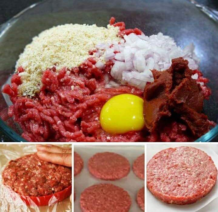 Homemade Hamburger Patties Homemade Hamburger Patties Homemade Hamburgers Homemade Burgers