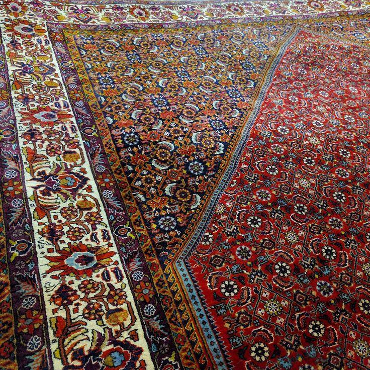 Fine Bidjar: The most durable of all Persian rugs. #fine #bidjar #durable…