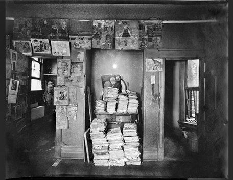 Henry Darger's Apartment, North Wall