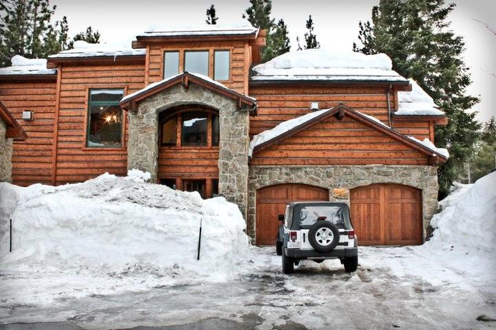mammoth mountains california big yet cozy cabin my