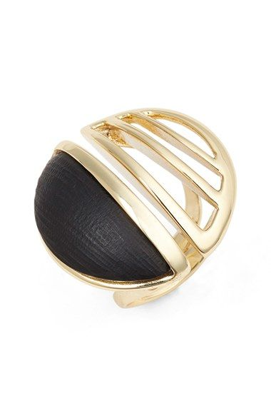 Alexis Bittar 'Lucite® Metal' Cocktail Ring available at #Nordstrom