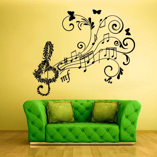 82 best Music Wall Decals images on Pinterest | Music wall, Wall ...