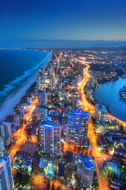 Gold Coast, Queensland. Study abroad here through our program with GlobaLinks at Bond University or Griffith University!