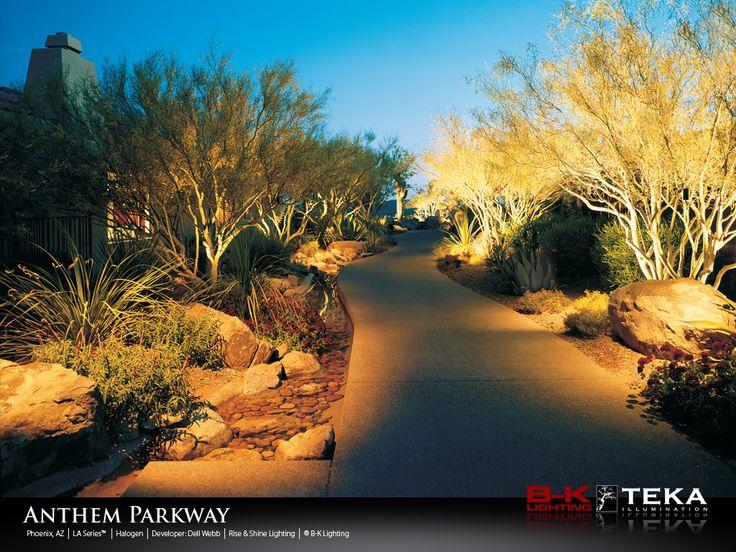 21 best landscape lighting design images on pinterest landscape anthem parkway mozeypictures Image collections