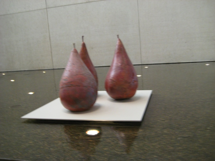 Pears sculpture, Brisbane Art Gallery, Q'ld. Australia