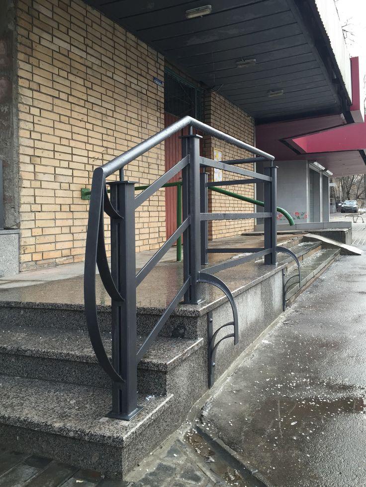 Перила для лестницы от #Metalmade, подробнее о услугах компании на сайте: http://www.metal-made.ru/service/