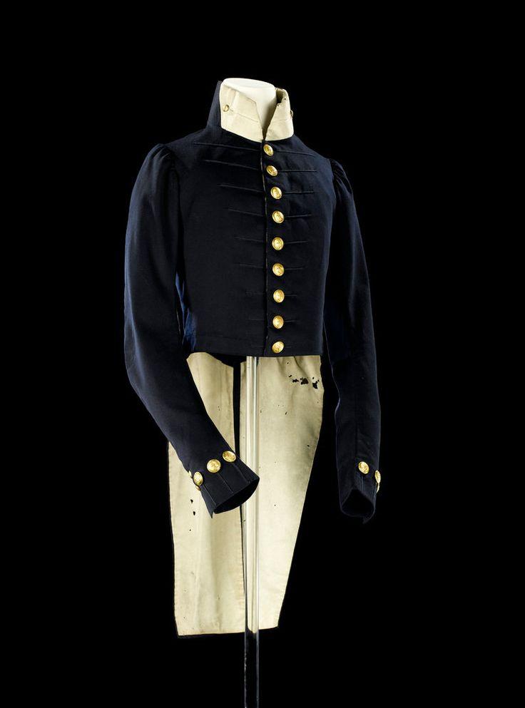 Royal Navy Midshipman Uniform Coat And Waistcoat History