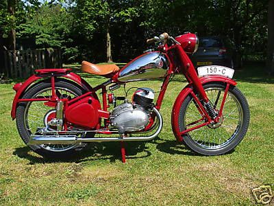 Still not an Indian but very cool! 1952 CZ 150C, Import from Slovakia, rare bike,