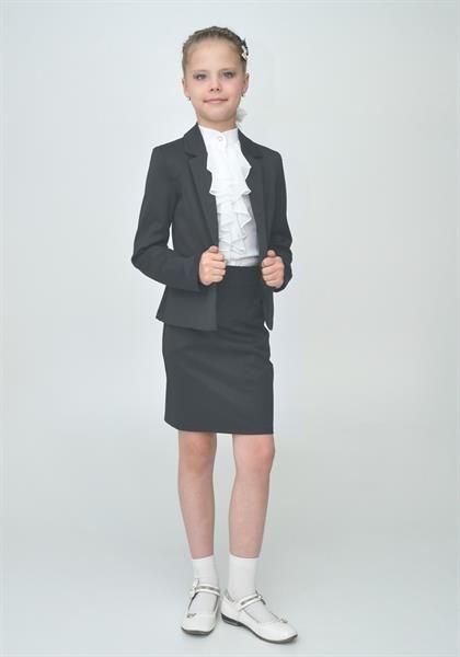 Школьные костюмы для мальчиков серые