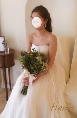 大人かわいい2スタイルでお披露目パーティー♡ |大人可愛いブライダルヘアメイク『tiamo』の結婚カタログ